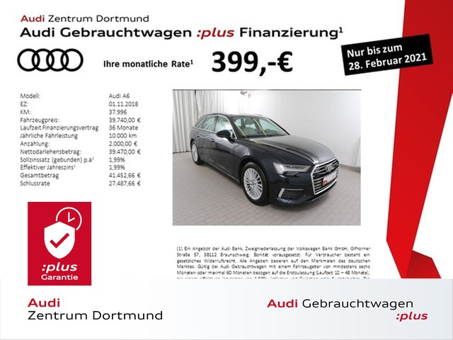 Audi A6 Avant design 45TDI qu. ACC/HDMatrix/STHZ/Navi+, Jahr 2018, Diesel