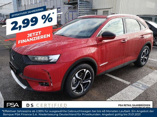 DS Automobiles DS7 PERFORMANCE LINE 1,6l225PSEAT8 Night-Vision, Jahr 2019, Benzin