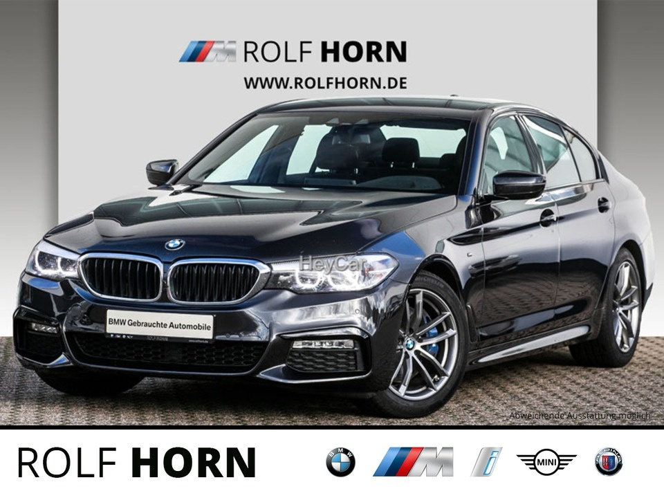 BMW 525d M Sportpaket Navi HUD H&K 18'' M PDC EURO 6, Jahr 2017, Diesel