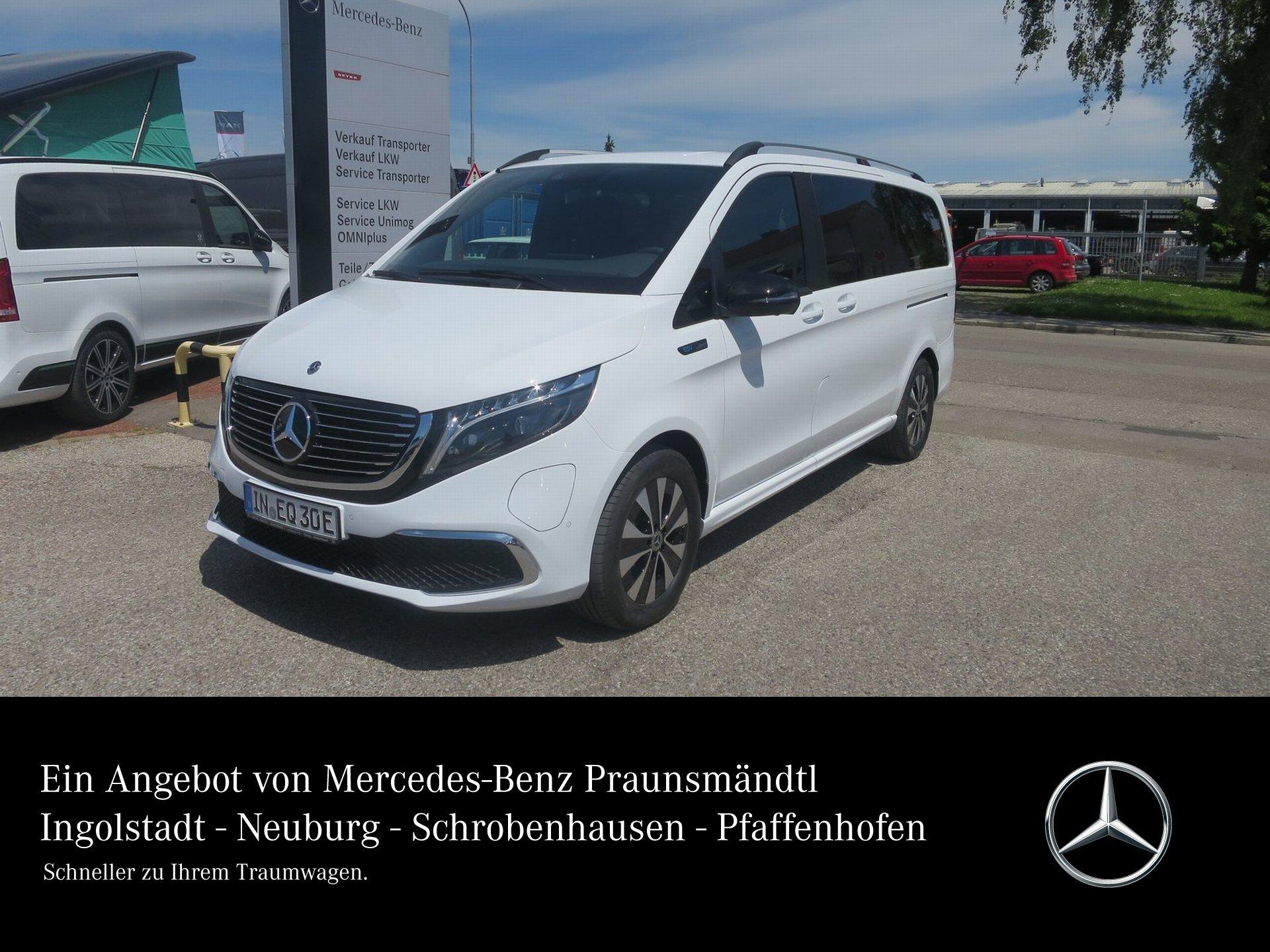 Mercedes-Benz EQV 300 lang MBUX Klima SHZ Kamera Navi LED, Jahr 2021, Elektro