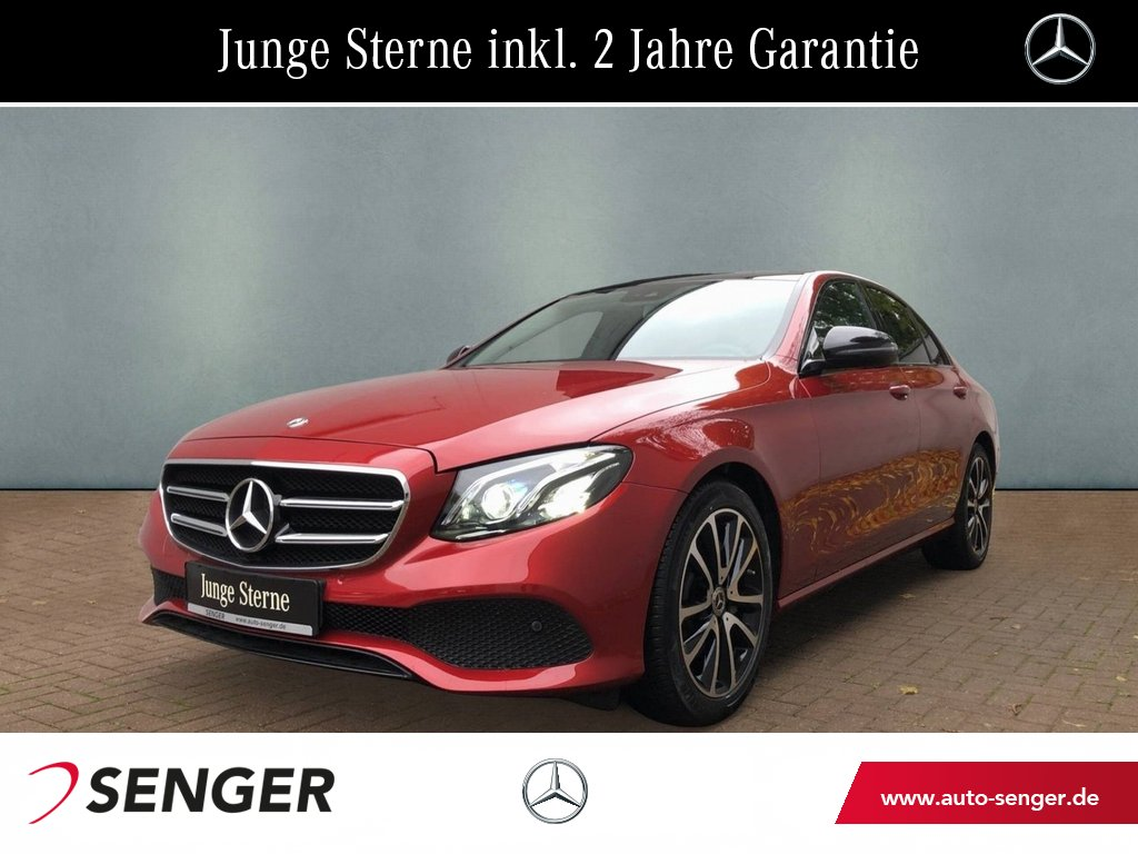 Mercedes-Benz E 200 Avantgarde Widescreen Night Paket Panorama, Jahr 2019, Benzin