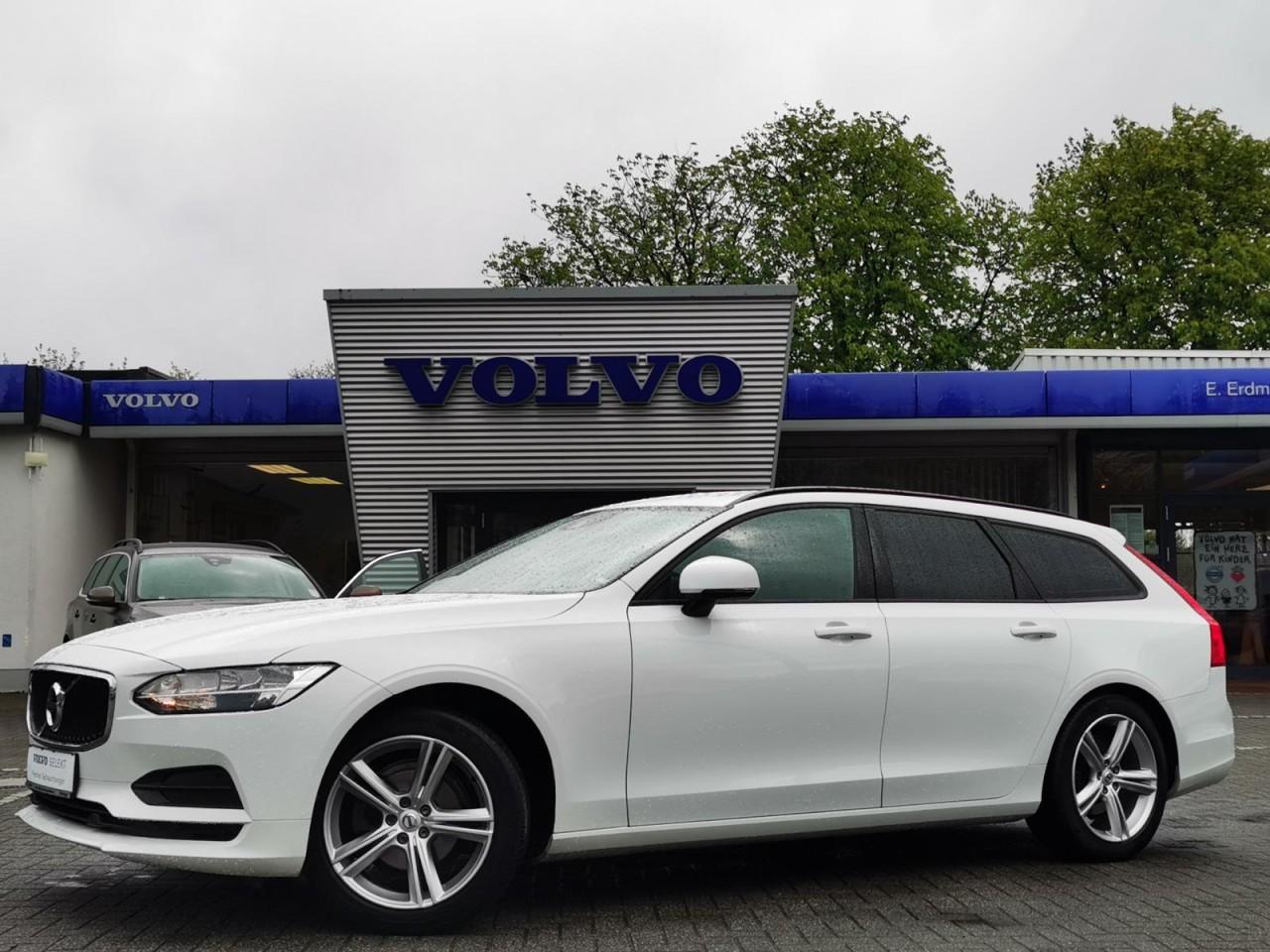 Volvo V90 D4 Kinetic Geartronic/Navi/el.Heckklappe/SHZ, Jahr 2018, Diesel