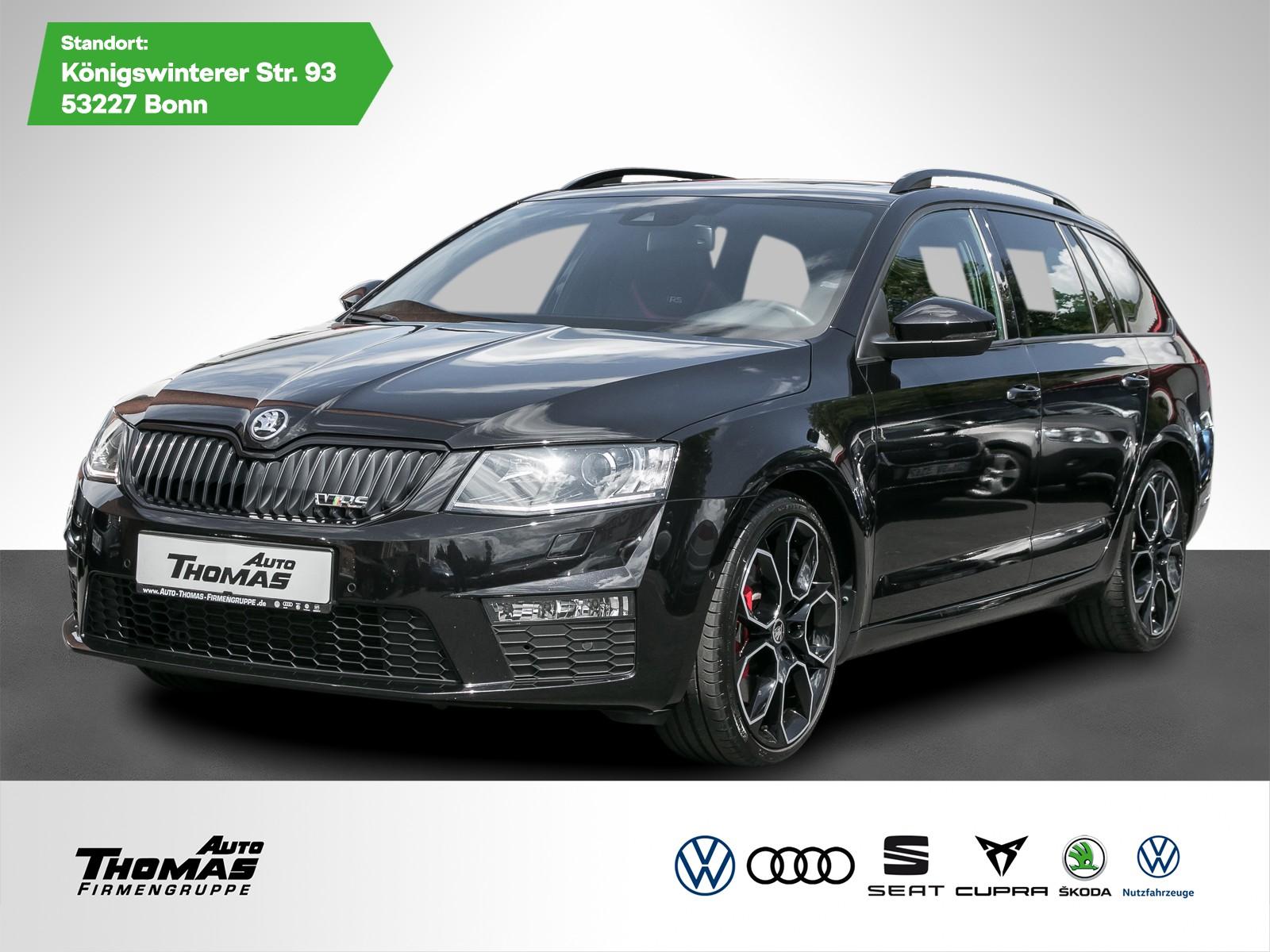 """Skoda Octavia III Combi """"RS 230"""" 2.0 TSI *NAVI*LEDER*, Jahr 2017, petrol"""