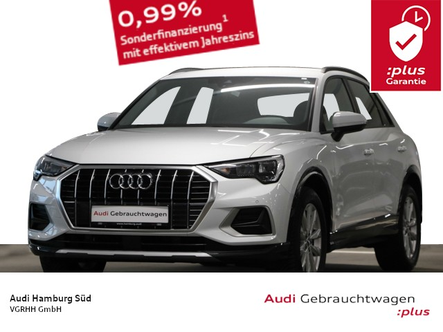 Audi Q3 35 TFSI S tronic advanced Sport LEDER/NAVI/VIRTUAL, Jahr 2020, Benzin