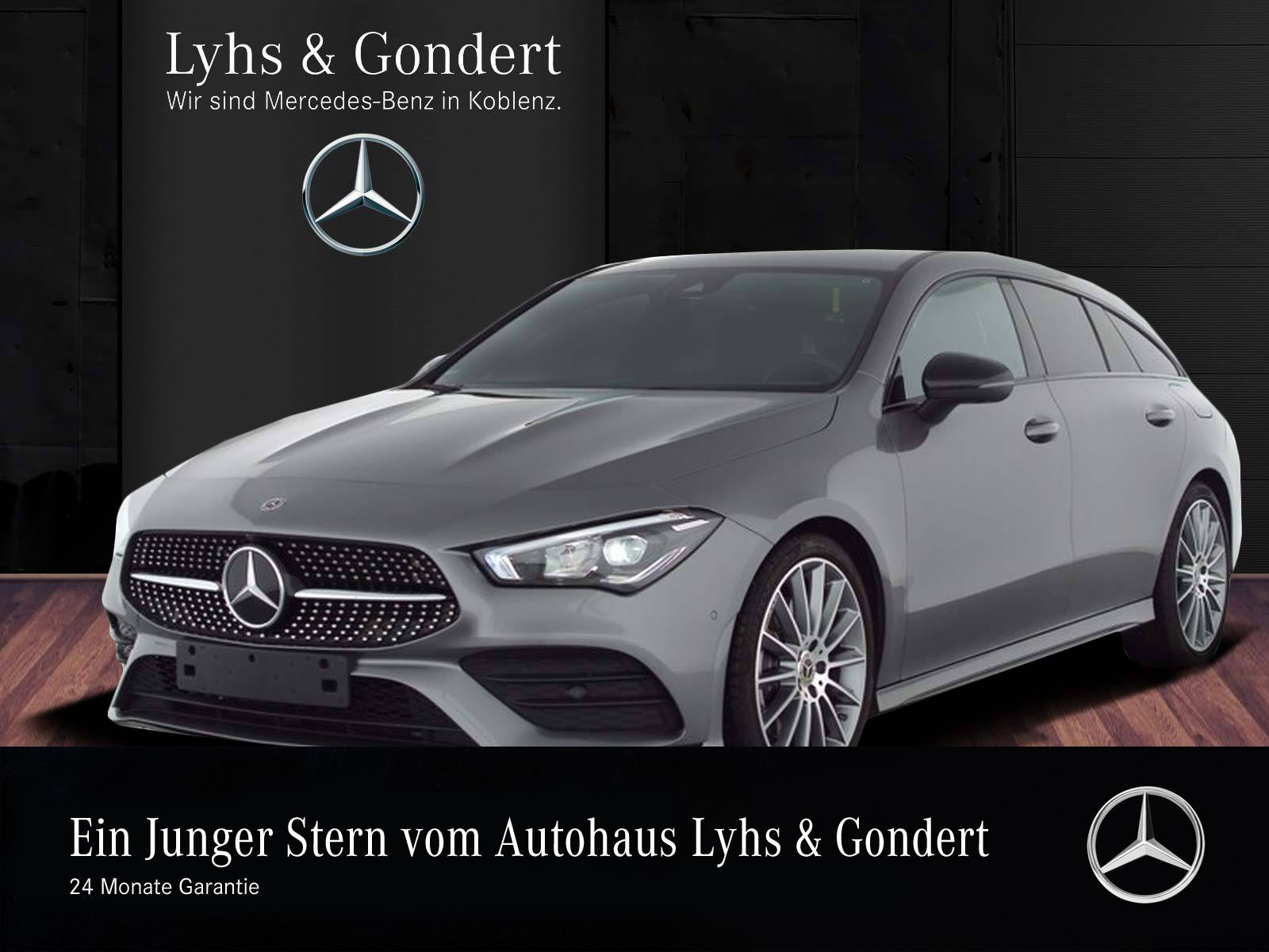 Mercedes-Benz CLA 220 Shooting Brake AMG 360° Night LED Memory, Jahr 2019, Benzin