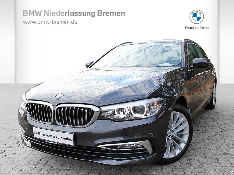BMW 540i xDrive Touring Head-Up HiFi Standhzg. RTTI, Jahr 2017, Benzin