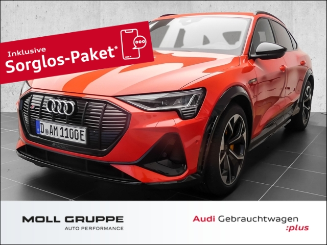 Audi e-tron S Sportback Panoramadach*Matrix*Leder*Alu 21'', Jahr 2020, Elektro