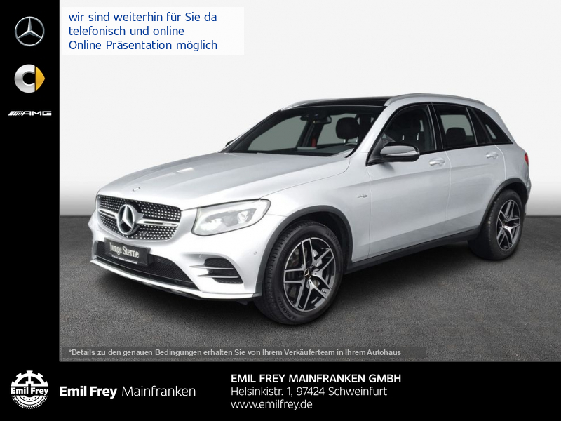 Mercedes-Benz GLC 43 AMG 4M+Navi+PANO+ILS+EasyPack+Burmester, Jahr 2016, Benzin