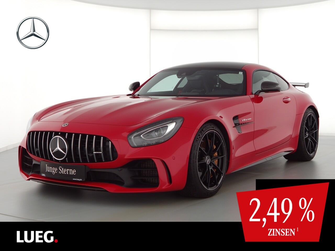 Mercedes-Benz AMG GT R COM+Keramik+Carbon+PerfSi+Burm3D+Distr, Jahr 2018, Benzin
