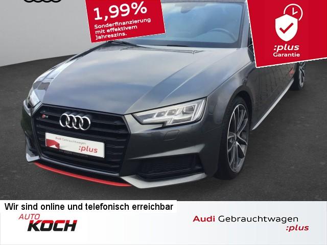 "Audi S4 Avant 3.0 TFSI q. Tiptr., Matrix LED, Navi Touch, Panoramad., AHK, LM 19"", Jahr 2017, petrol"