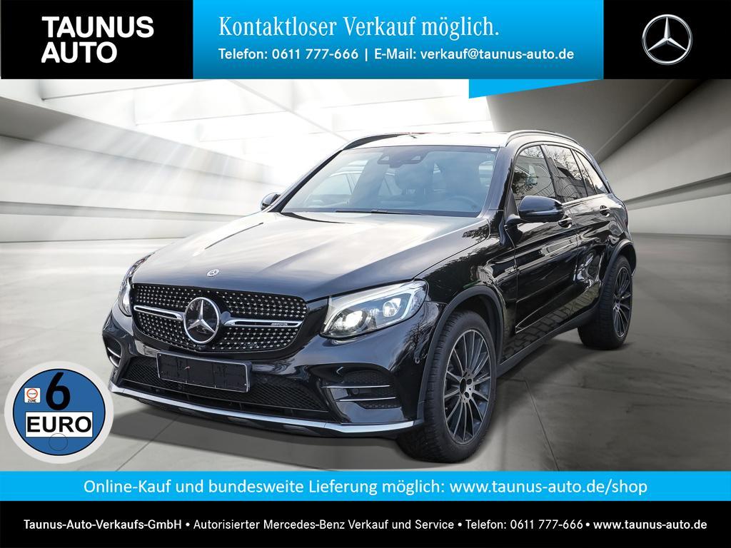 Mercedes-Benz GLC 43 AMG COMAND HUD ILS DISTRONIC KAMERA, Jahr 2017, Benzin