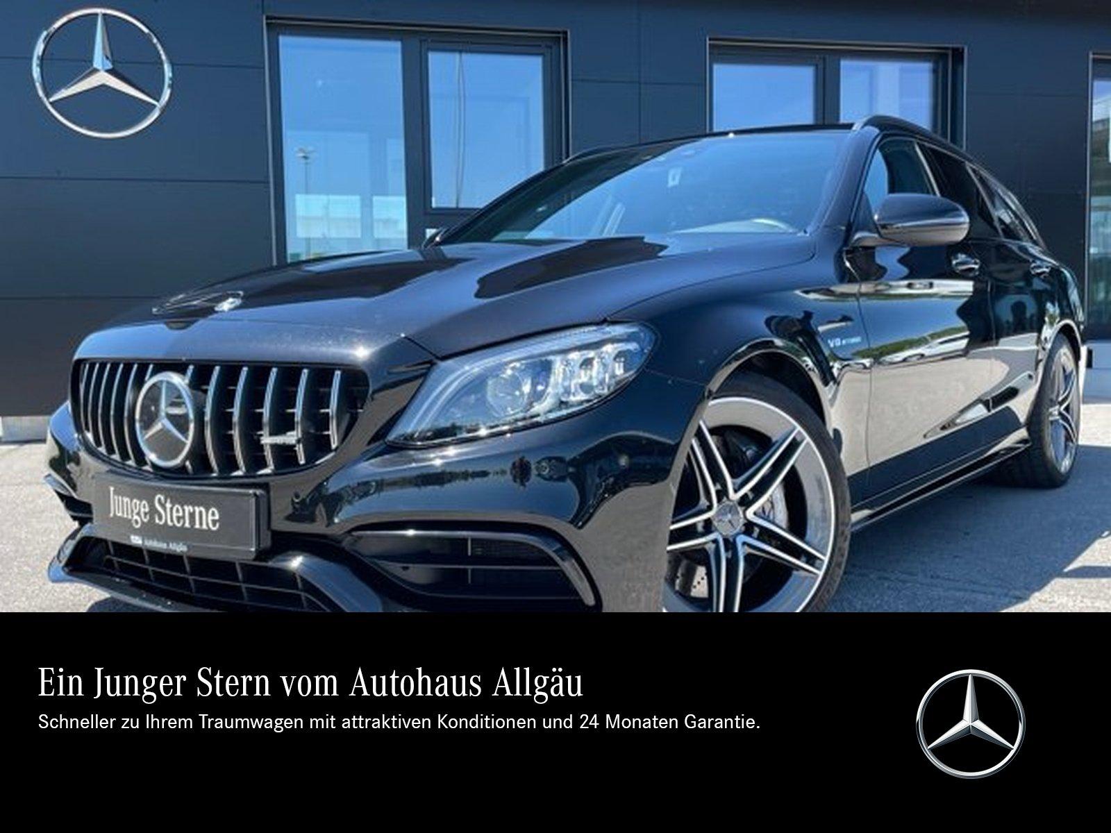 Mercedes-Benz C 63 AMG T NIGHT-PAKET+PANO+DAB+AMBIENTE+PERFORM, Jahr 2019, Benzin