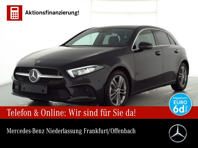 Mercedes-Benz A 200 Progressive LED Kamera Spurhalt-Ass PTS Temp, Jahr 2019, Benzin