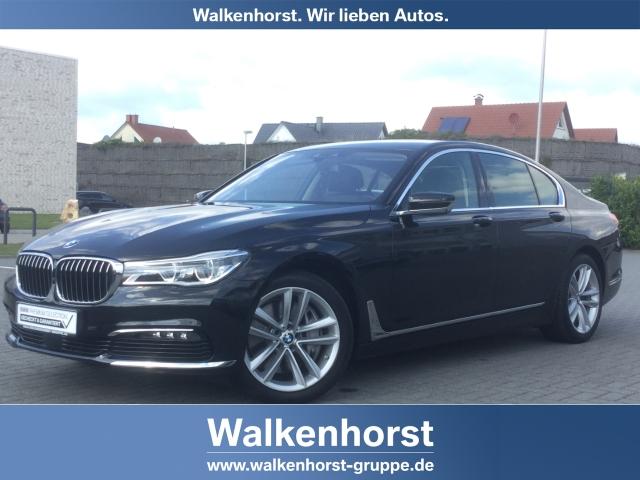 BMW 750 i Laserlicht Leder SurroundView Navi Massagesitze HUD ACC Rückfahrkam., Jahr 2016, petrol