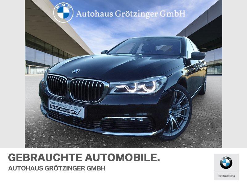 BMW 750d xDrive PARKASSISTENT+GLASDACH+KOMFORTZUGANG, Jahr 2017, Diesel