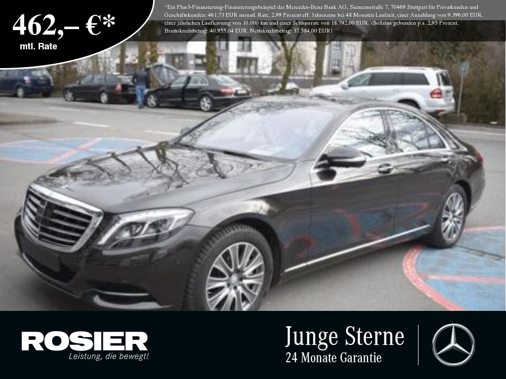 Mercedes-Benz S 500 Distronic+ 360° LED+ Comand Spur-Totw. Ab, Jahr 2016, Benzin