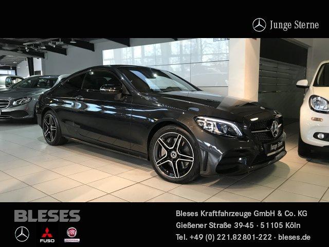 Mercedes-Benz C 300 d Coupé AMG Line +Night+Assist+Park+Licht+, Jahr 2020, Diesel