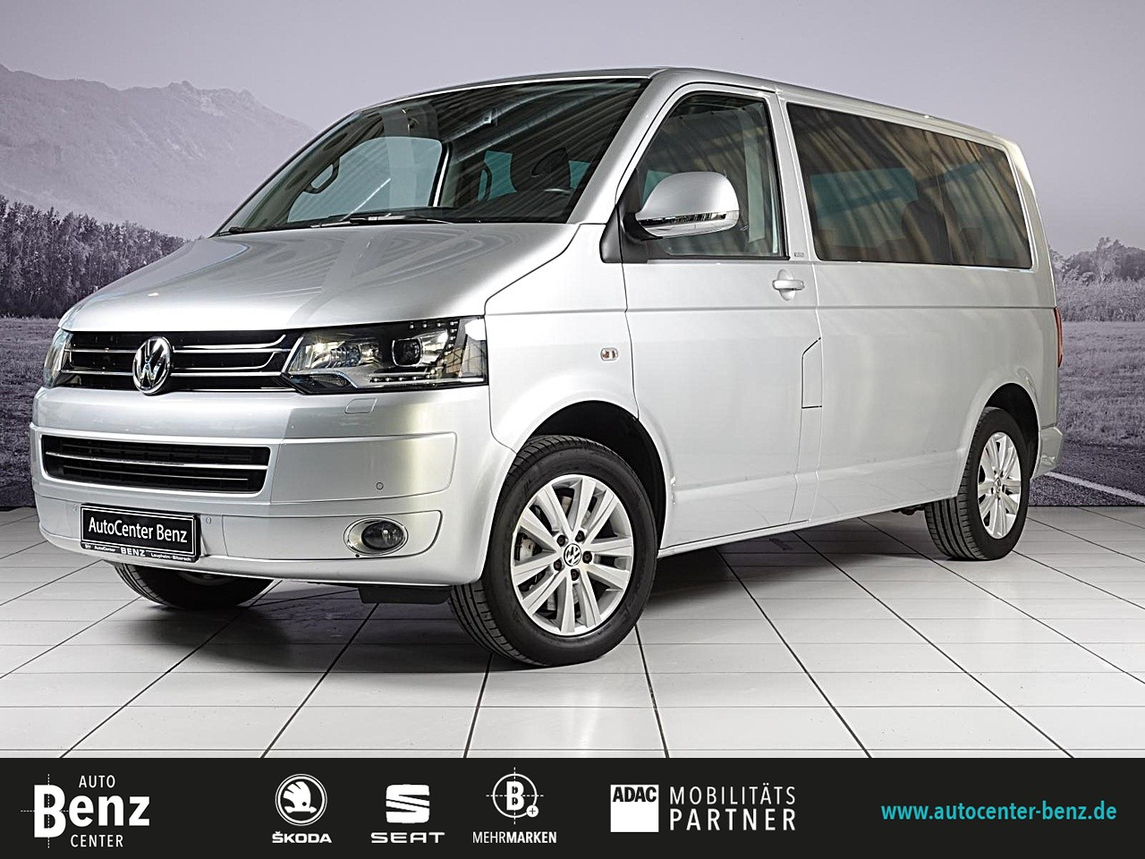 Volkswagen T5 Bus Multivan Cup 4Motion*AHK*GRA*7SITZ*SITH!*, Jahr 2014, Diesel