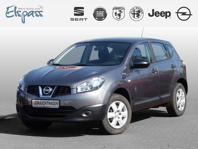 Nissan Qashqai Visia 1.6 KLIMA TEMPOMAT MF-LENKRAD EFH ZV, Jahr 2013, petrol