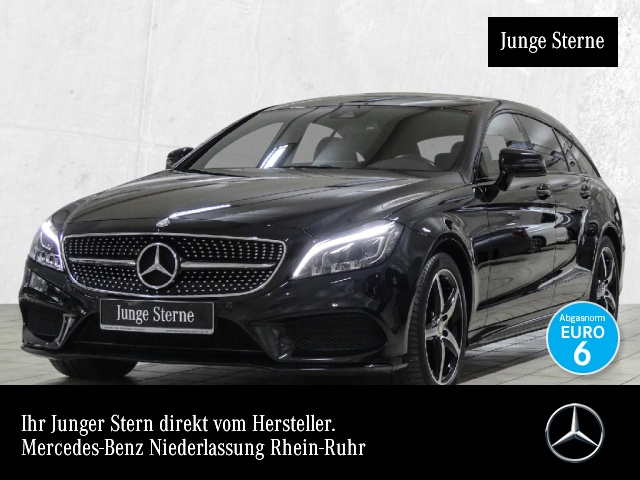 Mercedes-Benz CLS 350 d SB 4M AMG Night Sthzg Mbeam COMAND PTS, Jahr 2016, diesel