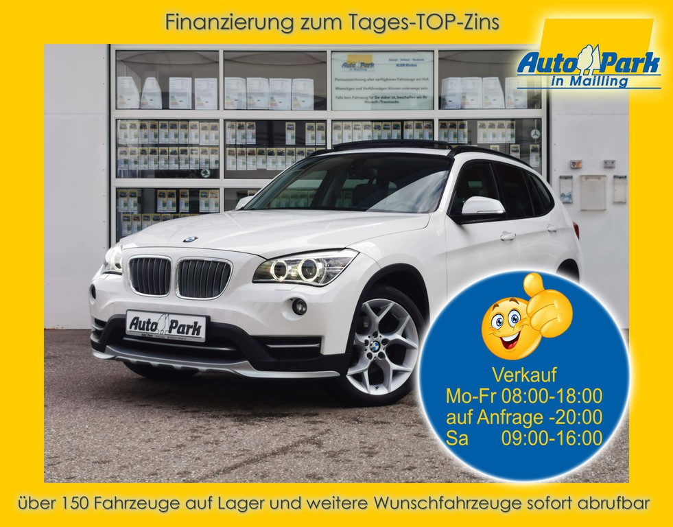 BMW X1 xDrive20d Aut. NAVI~PANOD~SHZ~2xPDC~GRA~ALU, Jahr 2014, Diesel