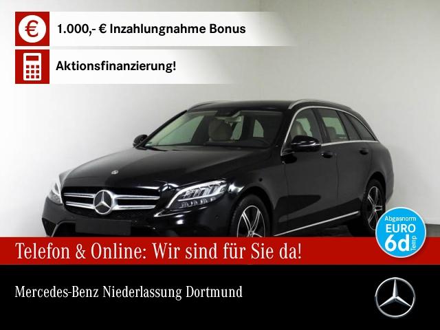 Mercedes-Benz C 180 T Avantgarde 360° Burmester COMAND LED PTS, Jahr 2019, Benzin