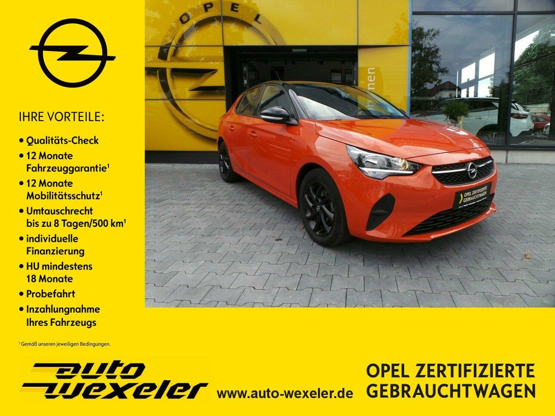 """Opel Corsa F Edition 1.2,PDC,16"""" LM schwarz, Jahr 2020, petrol"""