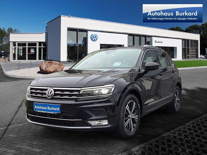 Volkswagen Tiguan Highline 2.0l TDI, Jahr 2016, Diesel
