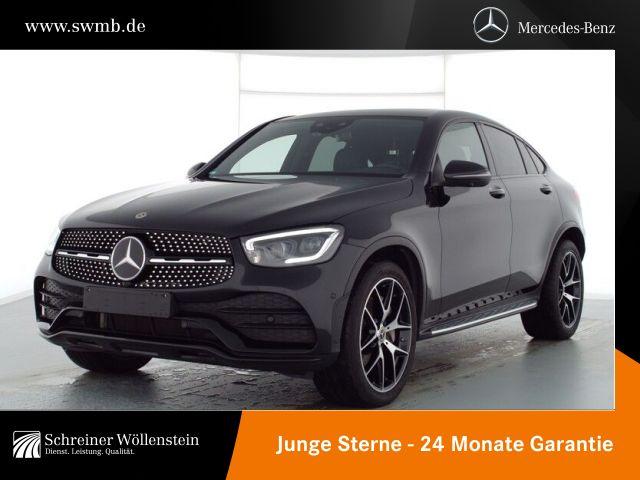 Mercedes-Benz GLC 400 d 4M Coupé *AMG*KeyGo*Night*MBUX*digDis*, Jahr 2020, Diesel