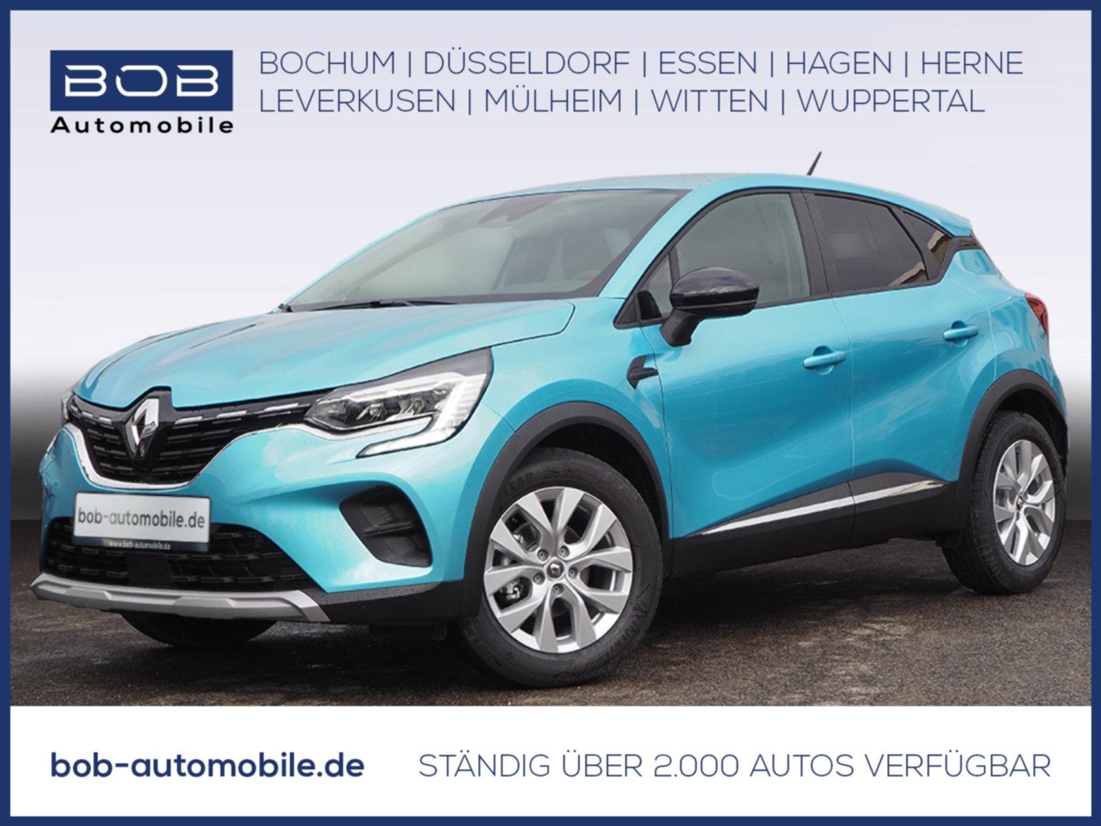 Renault Captur EXPERIENCE TCe 130 GPF SHZ KLIMA NAVI PDC, Jahr 2021, Benzin