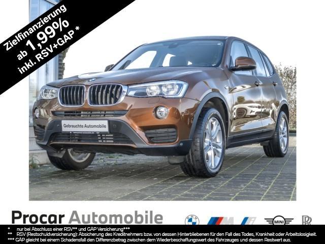 BMW X3 xDrive20d Aut. Navi Head-Up LED RFK Parkass., Jahr 2016, Diesel
