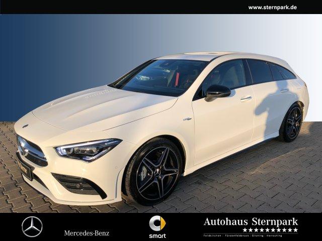 Mercedes-Benz CLA 35 AMG SB 4M +TrackPace+Kamera+Multibeam+uvm, Jahr 2019, petrol