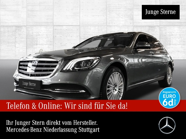 Mercedes-Benz S 560 e L designo Nachtsicht Fondent FirstClass TV, Jahr 2019, Hybrid