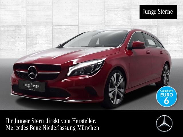 Mercedes-Benz CLA 250 SB Urban Harman LED Navi Laderaump Sitzh, Jahr 2016, petrol