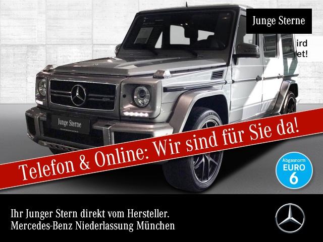 "Mercedes-Benz G 63 AMG Edition 463 21"" Standh. Distronic SHD, Jahr 2016, petrol"