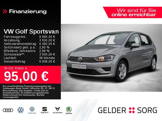 Volkswagen Golf Sportsvan 1.6 TDI*PDC*SHZ*AHK*Clima*, Jahr 2015, Diesel
