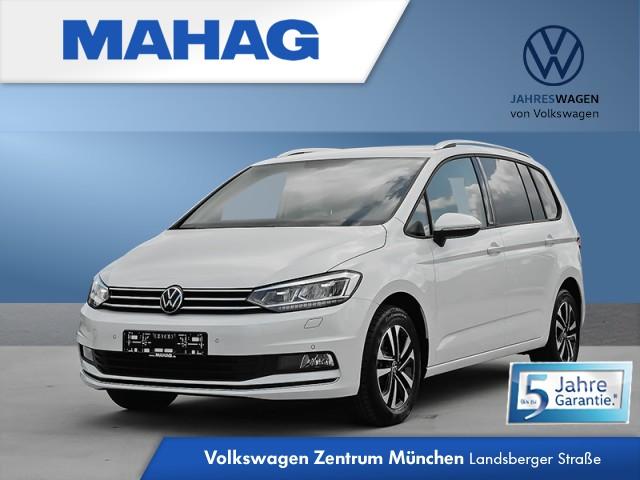 Volkswagen Touran 1.5 TSI UNITED 7-Sitzer Navi LED AppConnect DAB+ Sitzhz. ParkPilot FahrerAssistPaket 16Zoll DSG, Jahr 2020, Benzin