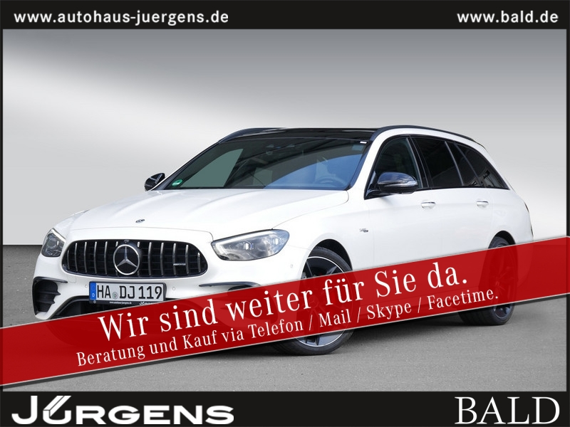 Mercedes-Benz AMG E 53 4M+ T MOPF/20/Burmester/DriversP/Distro, Jahr 2020, Benzin