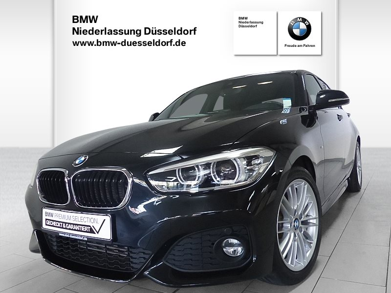 BMW 116i 5-Türer M Sportpaket, Jahr 2017, Benzin