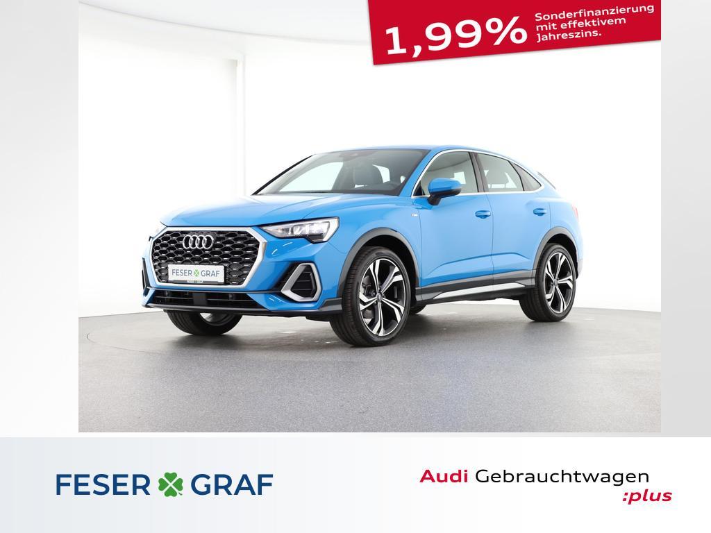 Audi Q3 Sportback S line 35 TFSI Virtual Cockpit/Navi, Jahr 2020, Benzin