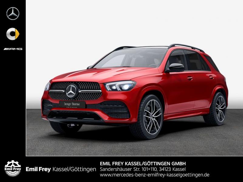Mercedes-Benz GLE 400 d 4M AMG+Night+PAN+MBUX In+tolle Farbkombi, Jahr 2019, Diesel