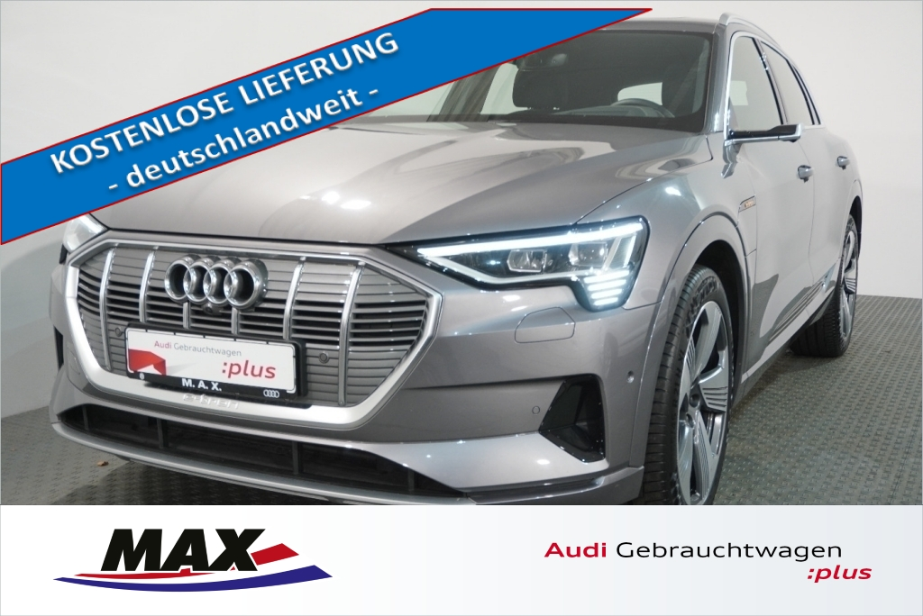 Audi e-tron 50 advanced 5j GAR MATRIX LED PANO AHK, Jahr 2020, Elektro