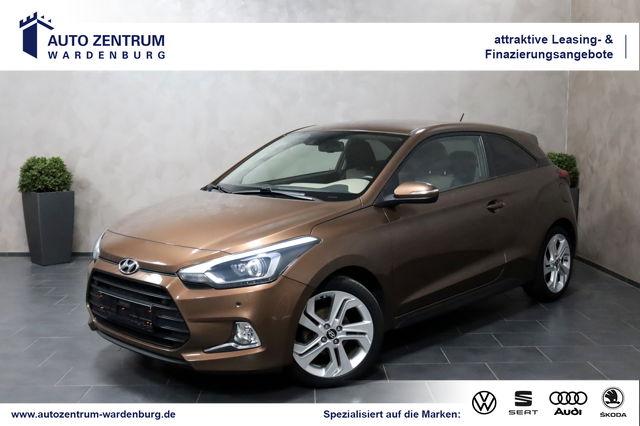 Hyundai i20 Coupe Style LED SHZ TEMPO SCHECKHEFTGEPFLEGT, Jahr 2015, Benzin