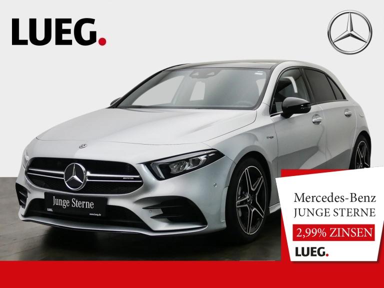 Mercedes-Benz A 35 AMG 4M Pano.-Dach+LED+Kamera+PDC, Jahr 2019, Benzin