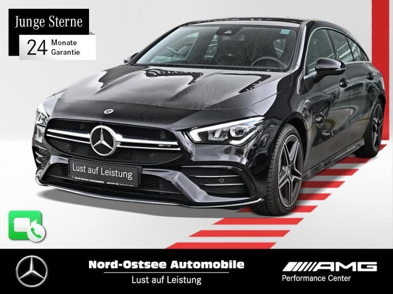 Mercedes-Benz CLA 35 AMG SB 4M Navi Premium Pano LED Kamera, Jahr 2020, Benzin