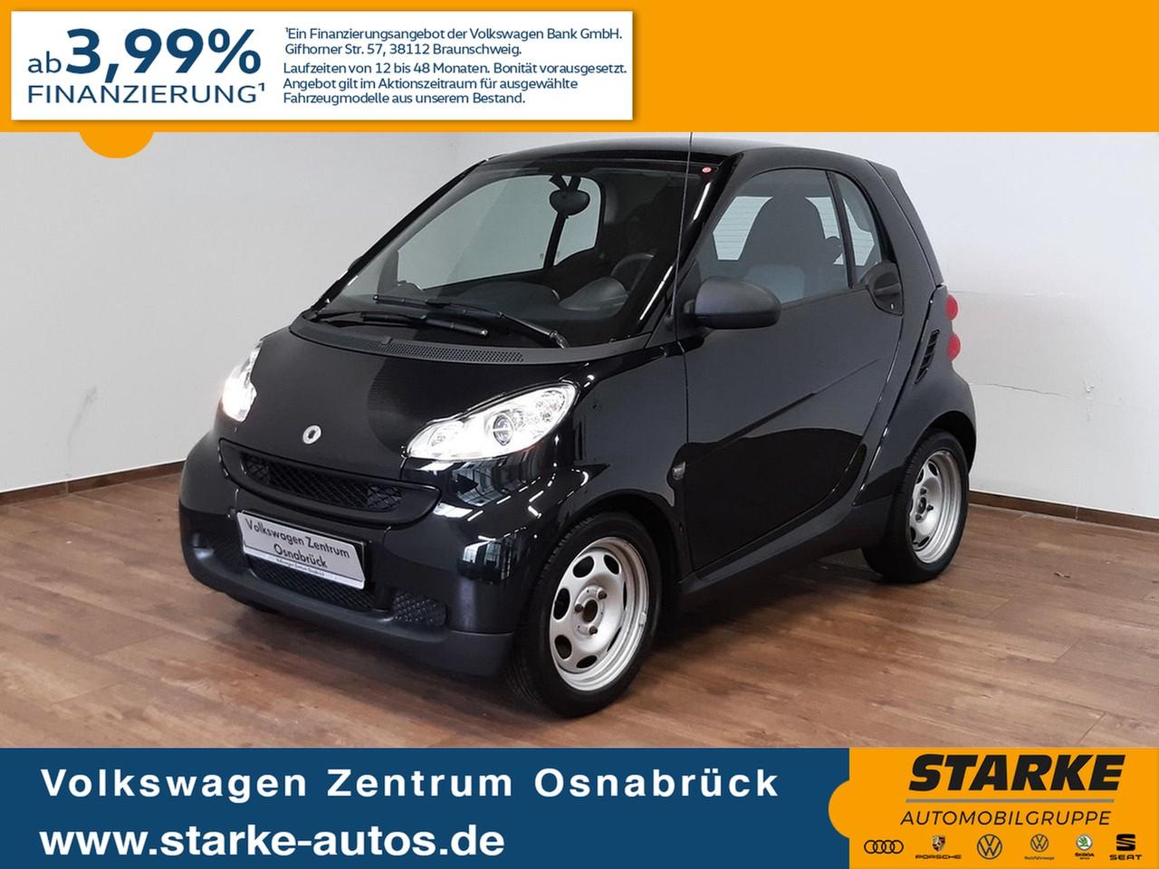 smart fortwo coupe Automatik pure, Jahr 2012, Benzin