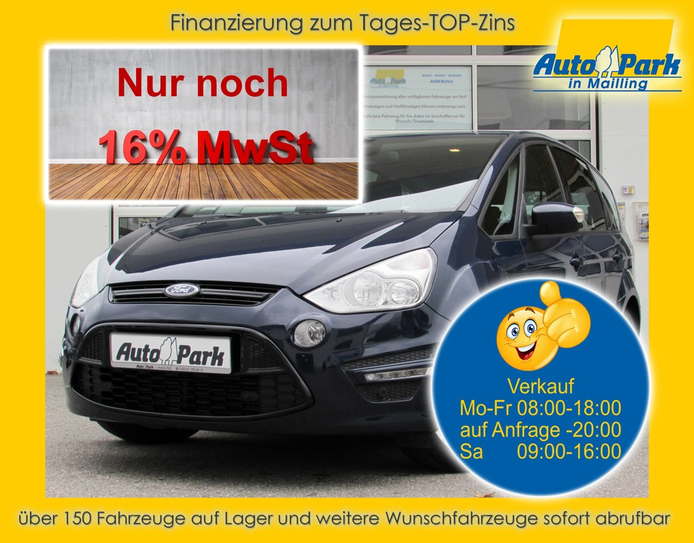 Ford S-Max 2.0 TDCi Autom. Business Edit. NAVI~2xPDC, Jahr 2015, Diesel