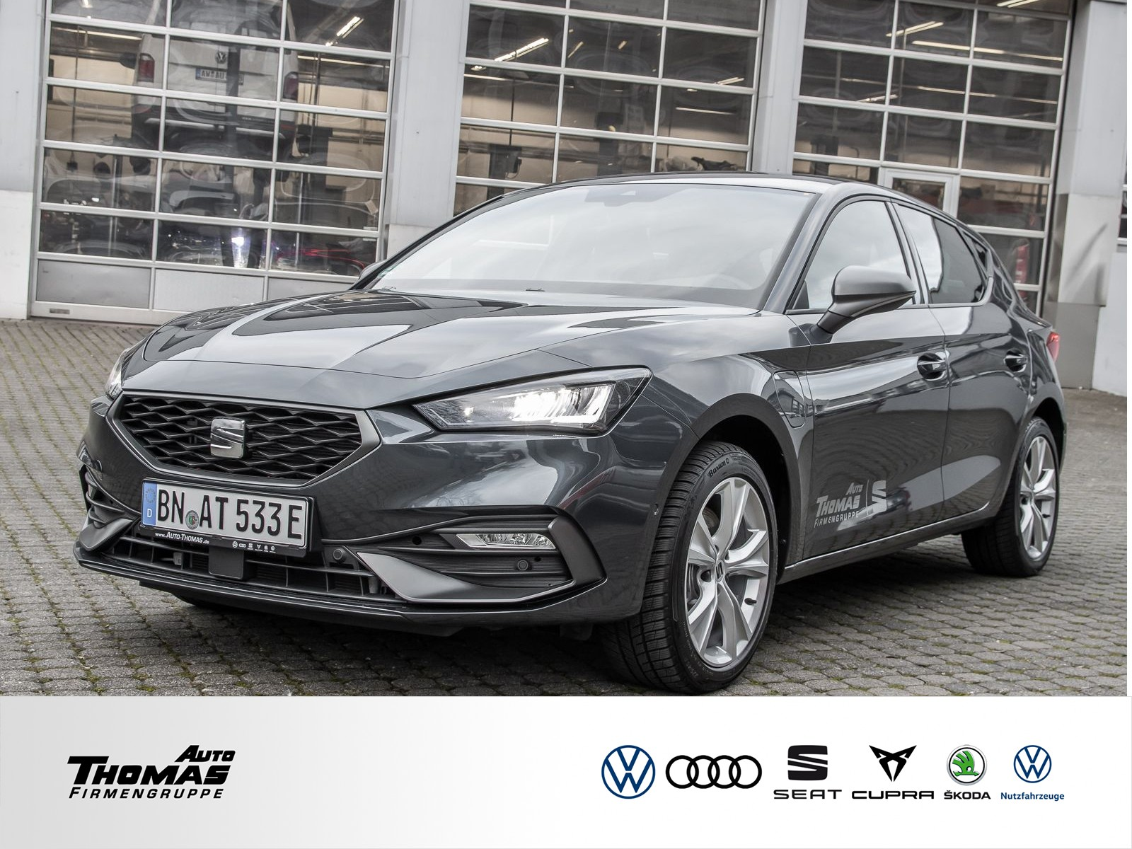 Seat Leon FR 1.4 e-Hybrid DSG+KAMERA+KESSY+VOLL-LED, Jahr 2020, Hybrid