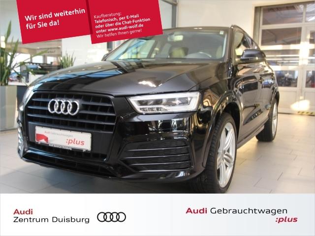 Audi Q3 2.0 TDI LED Einparkhilfe Navi Sitzheizung, Jahr 2016, Diesel