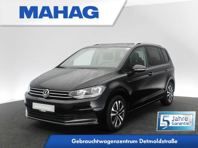 Volkswagen Touran UNITED 2.0 TDI 7-Sitzer Navi Sprachbed. ParkPilot DAB+ Bluetooth FrontAssist 6-Gang, Jahr 2021, Diesel
